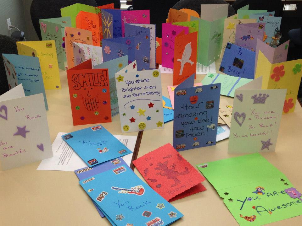 About Making Cards - Cards for Hospitalized Kids